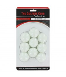 Plastbollar 18-pack vita